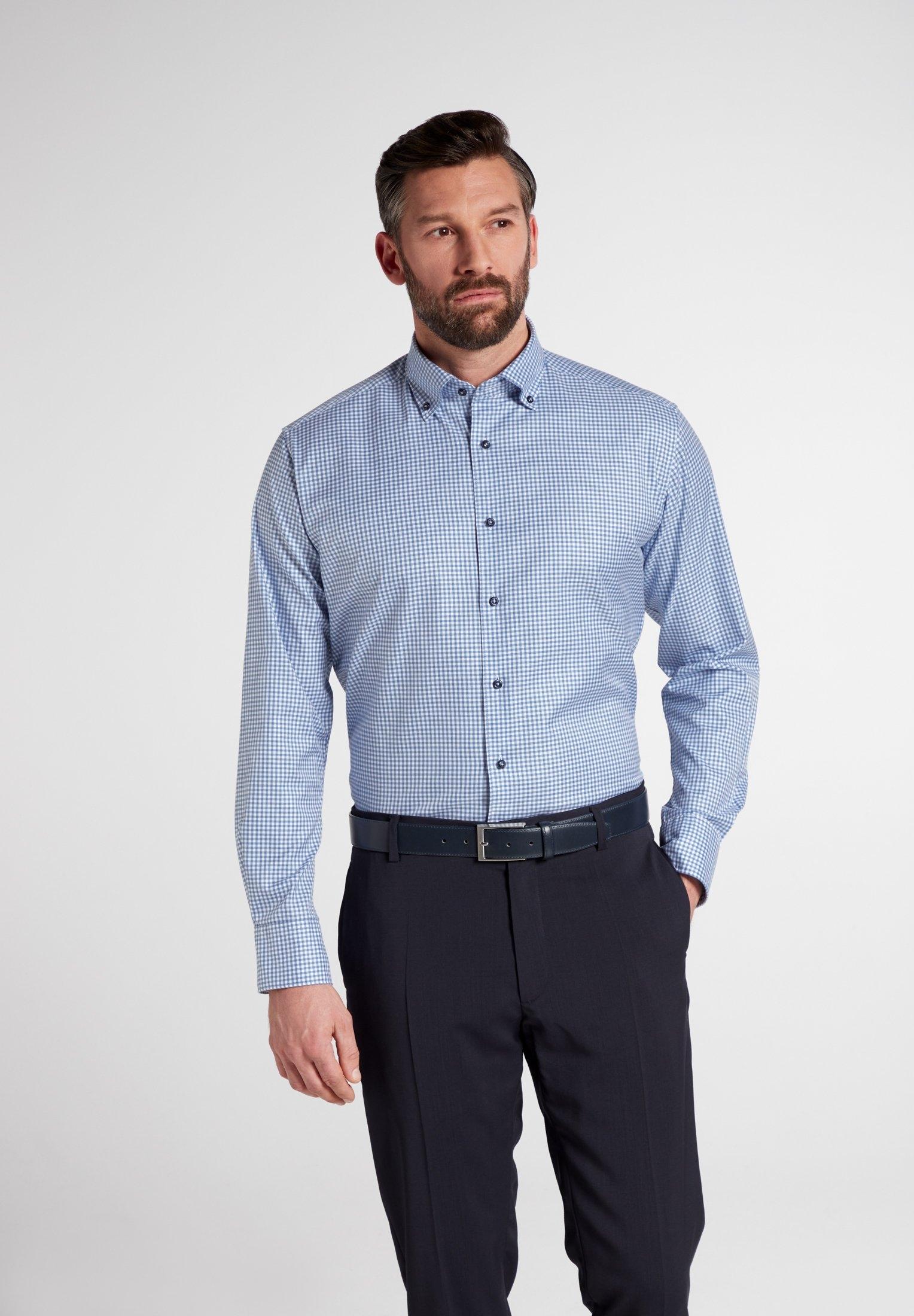 Eterna businessoverhemd MODERN FIT Lange mouwen nu online kopen bij OTTO