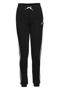 adidas performance joggingbroek »adidas essentials 3-streifen french terry« zwart