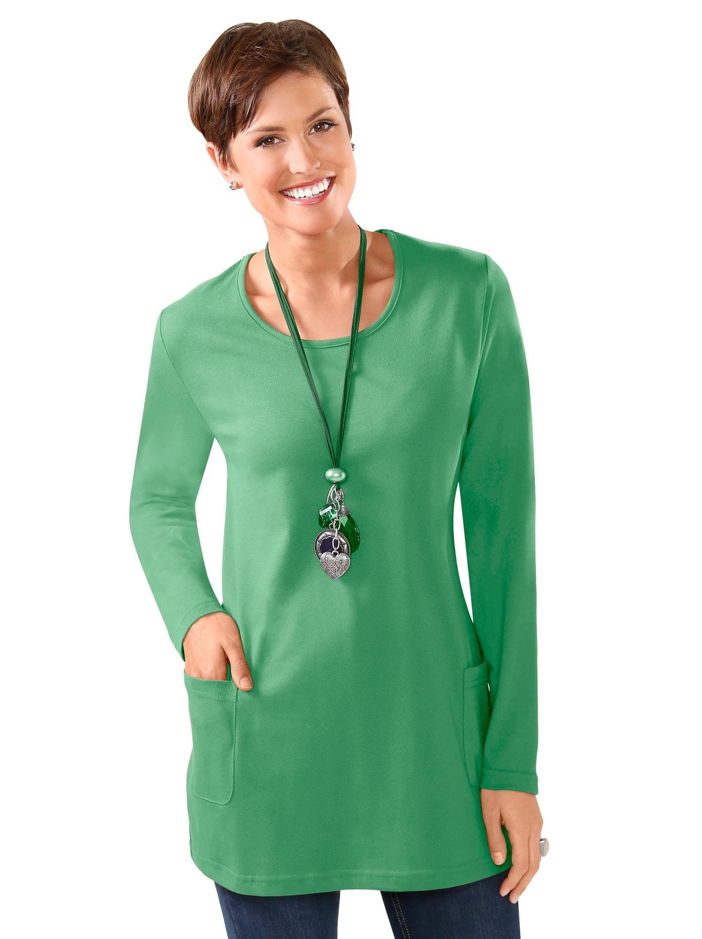 Classic Basics lang shirt met ronde hals nu online kopen bij OTTO