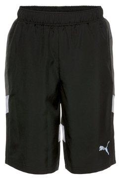 puma short active sports woven shorts boys zwart