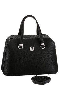 tommy hilfiger tas »th core med satchel« zwart