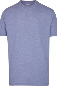 daniel hechter t-shirt »doppelpackung« (set van 2) blauw
