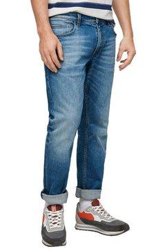 s.oliver straight jeans »york« blauw