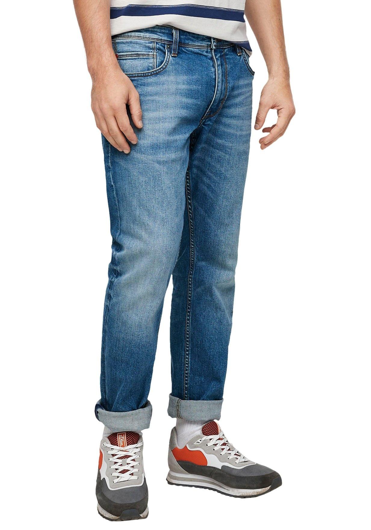 Op zoek naar een s.Oliver straight jeans York met authentieke wassing? Koop online bij OTTO