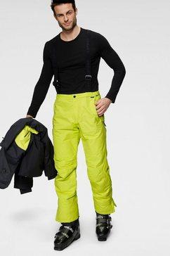 icepeak skibroek travis 10.000 mm waterkolom geel