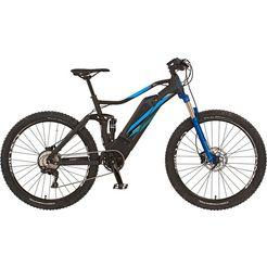 prophete e-bike graveler e8000 inclusief demperpomp (set) zwart