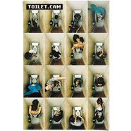 reinders! poster toilet.cam 2 family (1 stuk)