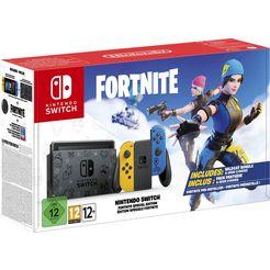 nintendo switch »fortnite edition« console zwart