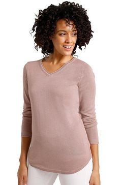 creation l premium gebreide trui trui van zijde en kasjmier roze