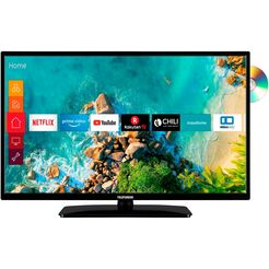 "telefunken led-tv d32h550m4cwd, 80 cm - 32 "", hd-ready, smart-tv, geïntegreerde dvd-speler zwart"