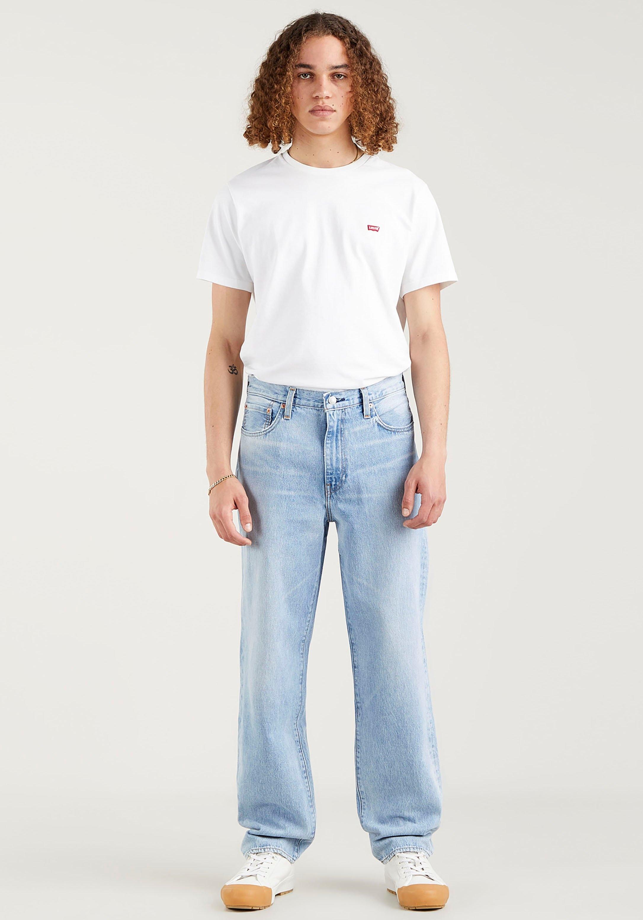 Levi's 5-pocketsjeans LE Jeans STAY LOOSE DENI met merklabel goedkoop op otto.nl kopen