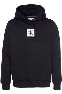 calvin klein hoodie »ckj kap.sweatshirt small logo hoodie« zwart