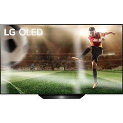 lg oled65b9sla oled-televisie (164 cm - (65 inch), 4k ultra hd, smart-tv zwart