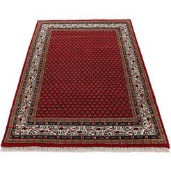woven arts oosters tapijt »orientteppich mir«, woven arts, rechthoekig, hoogte 15 mm rood