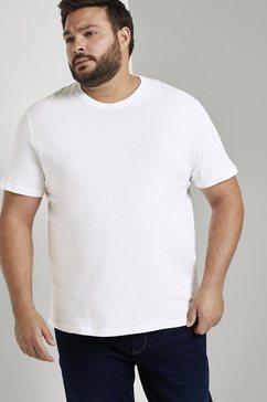 tom tailor men plus t-shirt »basic t-shirts im doppelpack«