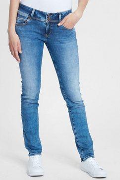 cross jeans rechte jeans »loie« blauw