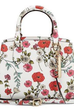 nine west tas rosé met mooie bloemenprint multicolor