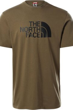 the north face t-shirt »easy tee« groen