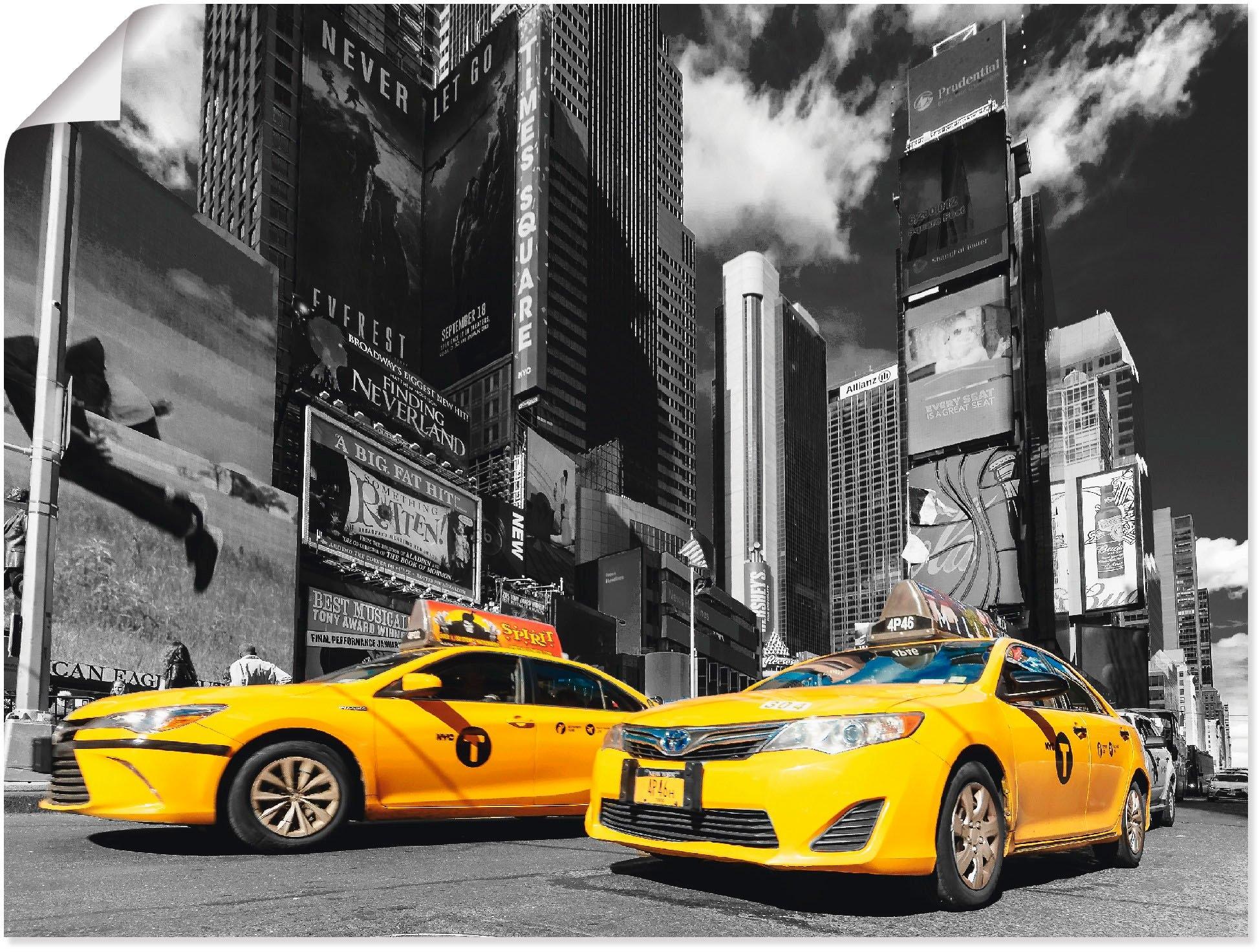 Artland artprint »Times Square New York« voordelig en veilig online kopen
