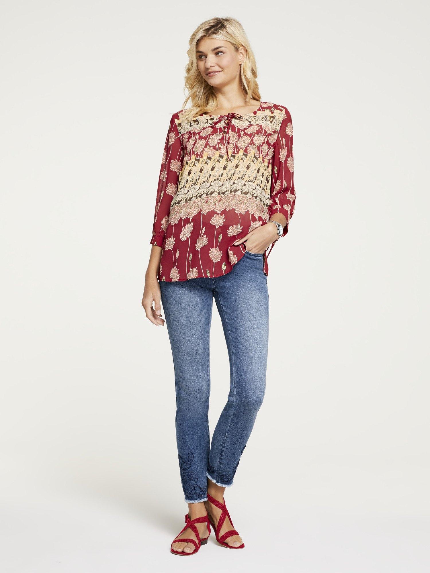 LINEA TESINI by Heine Gedessineerde blouse nu online bestellen