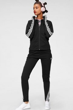 adidas performance trainingspak »women tracksuit cotton energize« zwart
