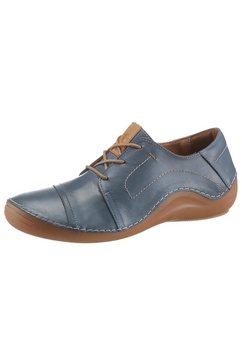 cosmos comfort veterschoenen met aangezette zool blauw
