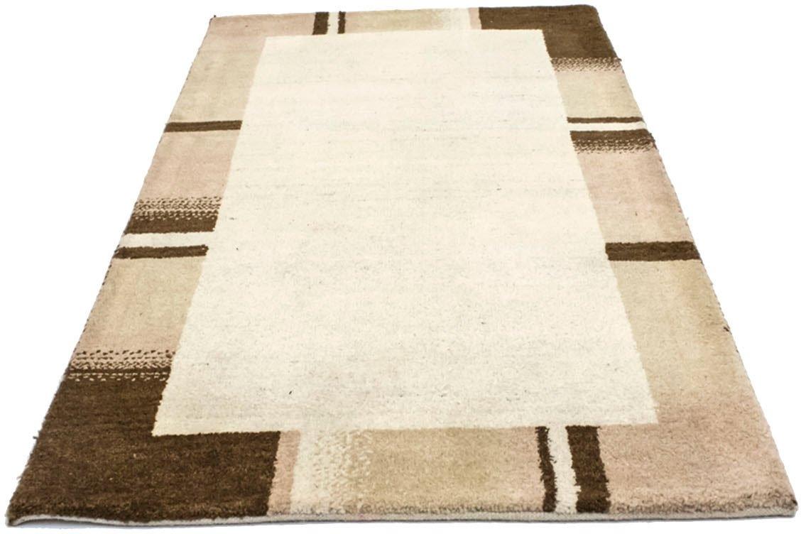 morgenland wollen kleed Gabbeh Teppich handgeknüpft beige handgeknoopt - verschillende betaalmethodes