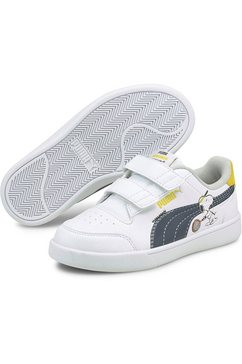 puma sneakers »peanuts puma shuffle v ps« wit