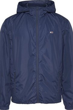 tommy jeans windbreaker »tjm packable windbreaker« blauw