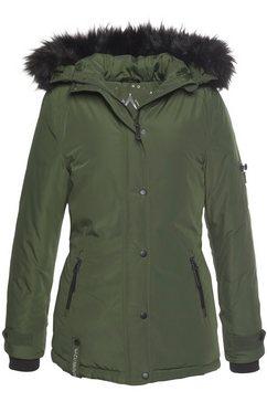 alpenblitz winterjack »moskau« groen