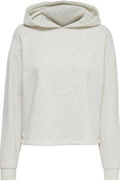only sweatshirt onlcomfy met een capuchon beige