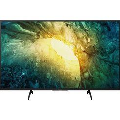 "sony led-tv kd-43x7055 bravia, 108 cm - 43 "", 4k ultra hd, smart-tv zwart"