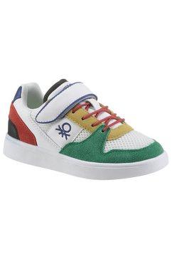 united colors of benetton sneakers ally met praktisch klittenbandtrensje multicolor