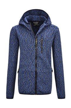 killtec vest »lynge bys knitfleece jckt« blauw