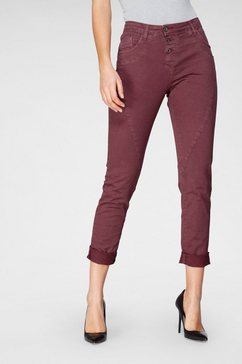 please jeans boyfriendbroek »p78a« rood