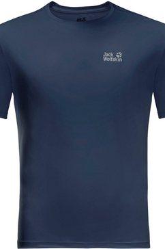 jack wolfskin t-shirt blauw