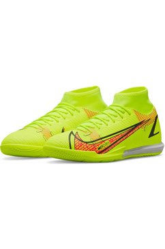 nike voetbalschoenen mercurial superfly 8 academy ic in geel