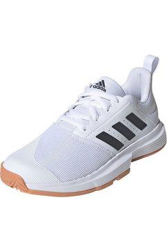 adidas performance indoorschoenen »essence w« wit