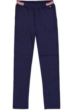 garcia jerseybroek met glinsterstrepen in de boord blauw