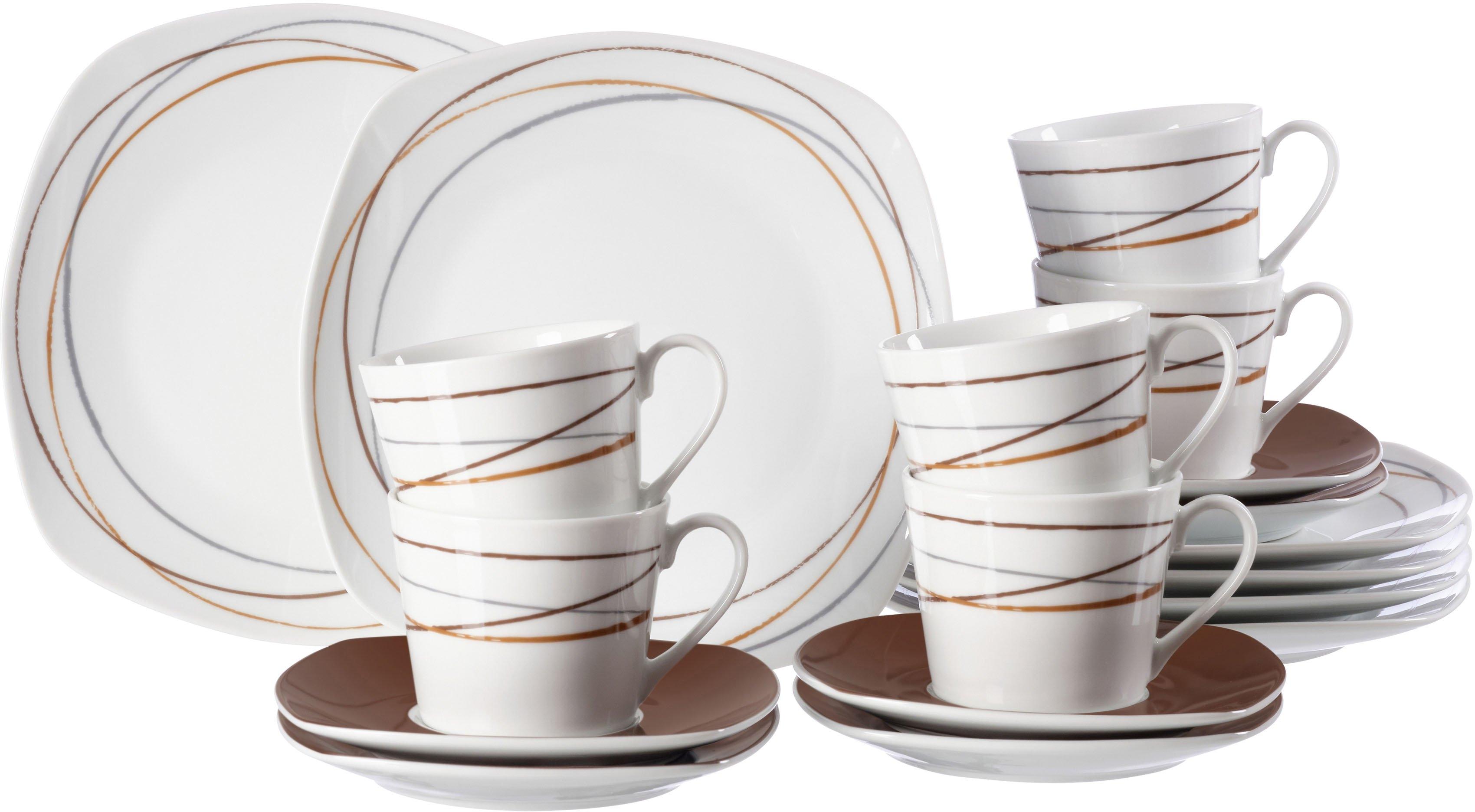 Ritzenhoff & Breker Koffieservies Alina Circle (set, 18-delig) goedkoop op otto.nl kopen