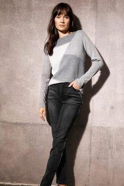 creation l slim fit jeans grijs