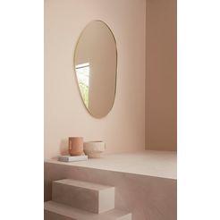 leger home by lena gercke spiegel joline organische vorm geel