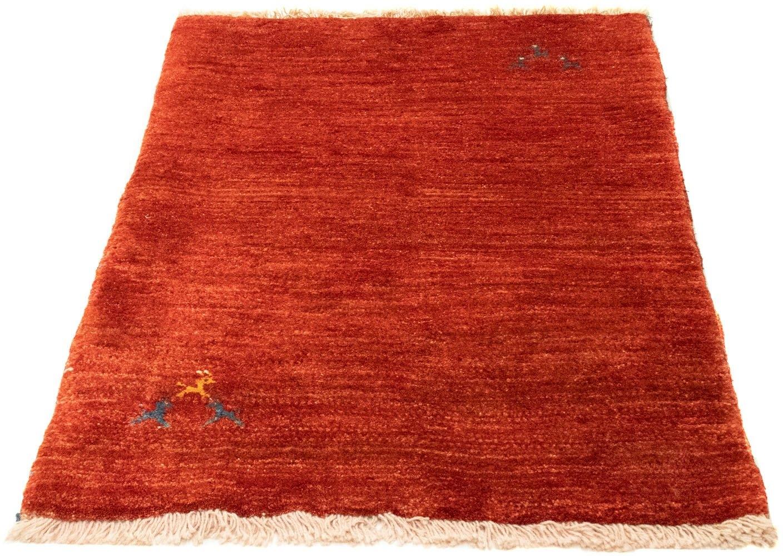 morgenland wollen kleed Gabbeh Teppich handgeknüpft rot handgeknoopt nu online kopen bij OTTO