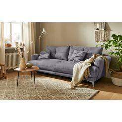 mr. couch bedbank lewis 5 jaar fabrieksgarantie op koudschuimvulling, duurzaamheid, exclusieve collectie grijs