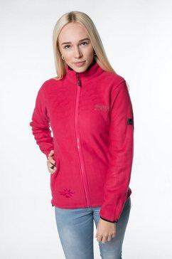 deproc active fleecejack »cambly lady« roze