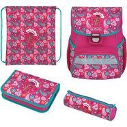 herlitz schooltas loop plus indian summer (set, 4) roze