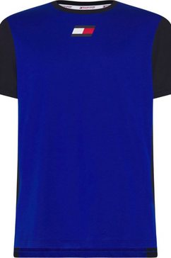 tommy sport trainingsshirt »flag tee«
