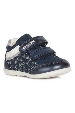geox kids babyschoentjes elthan girl met leuke applicaties blauw