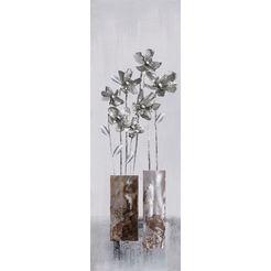 boenninghoff olieverfschilderij handgefertigtes oelgemaelde ca.30x90 cm (1 stuk) grijs
