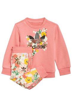 adidas originals joggingpak »her studio london floral set« roze